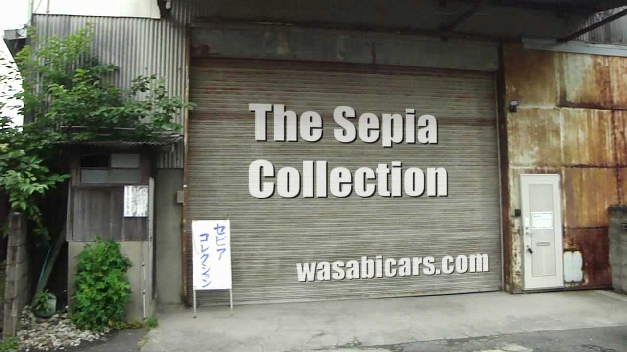 The Sepia Collection - A collection of classic Japanese cars