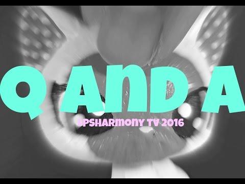 UNICORNS & CRUSTY BROWNIES? | Q&A LPSHarmonyTV