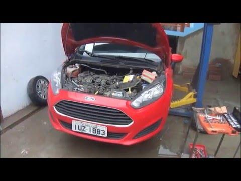 Ford New Fiesta  Revisao Freio Dianteiro Fluido De Freio Oleo Filtros E Mais Youtube