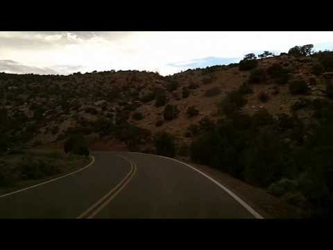 Scenic Drive Through Colorado National Monument: Time Lapse Drive