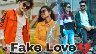 Fake Love(sad love story) heart ❤️ touching