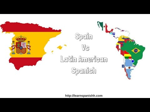 SPAIN Vs LATIN AMERICAN SPANISH - Why you Should Learn? | STUDY SPANISH