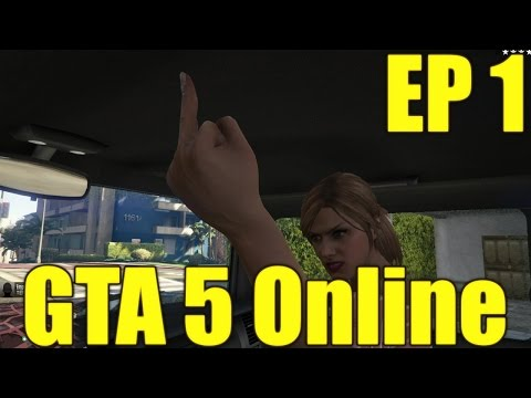 The FGN Crew Plays: GTA 5 Online Part 1 - The Fun Begins Here (PC)