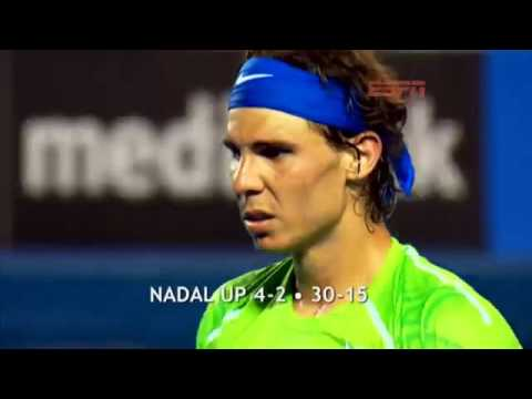 Djokovic Vs Nadal ESPN 2012 Australian Open Men's Final Review