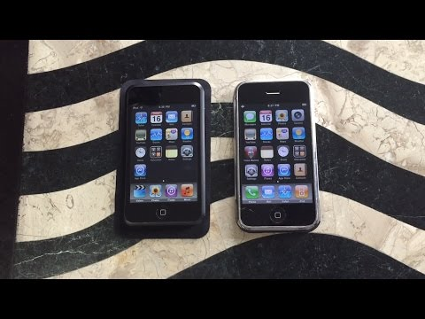 Comparing the iPhone 2G and iPod Touch 1st Generation