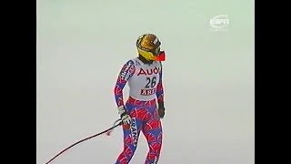 Alpine skiing WC 1998  Are, Downhill (w)