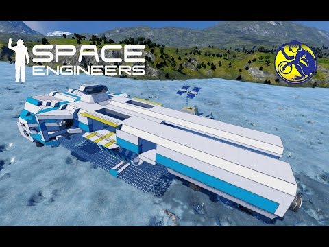 Space Engineers - S02E07 - Drake Refinery & Assembly Rooms