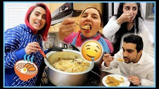 MAKING BIRYANI FOR THE FIRST TIME and my fam LOVED it | BodmonZaid