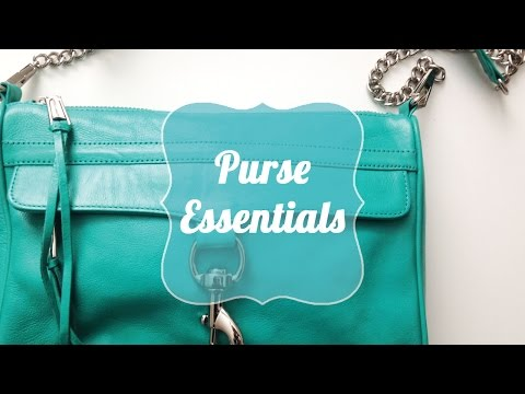 Purse Essentials | What Every Women Should Keep in Her Bag!
