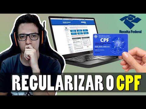 Como Regularizar O CPF No Site Da Receita Federal