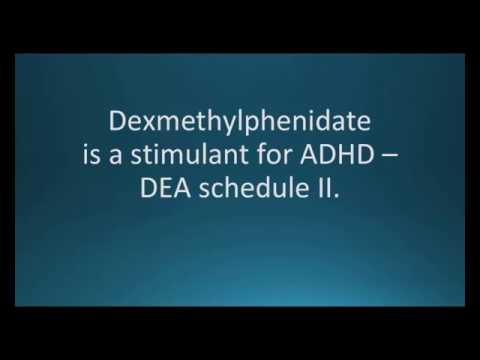 How To Pronounce Dexmethylphenidate (Focalin) (Memorizing Pharmacology Flashcard)