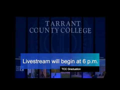 Tarrant County College Commencement - May 16, 2016 - Evening