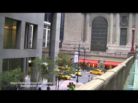Grand Central Terminal View from Park Avenue Viaduct, New York City