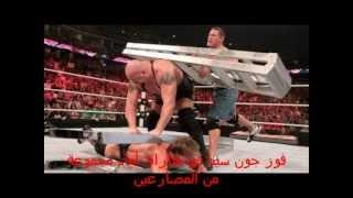 أقوى 10 مباريات في المصارعة الحرة WWE خلال 2012