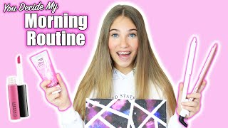 My Morning Routine  You Decide!  Rosie McClelland