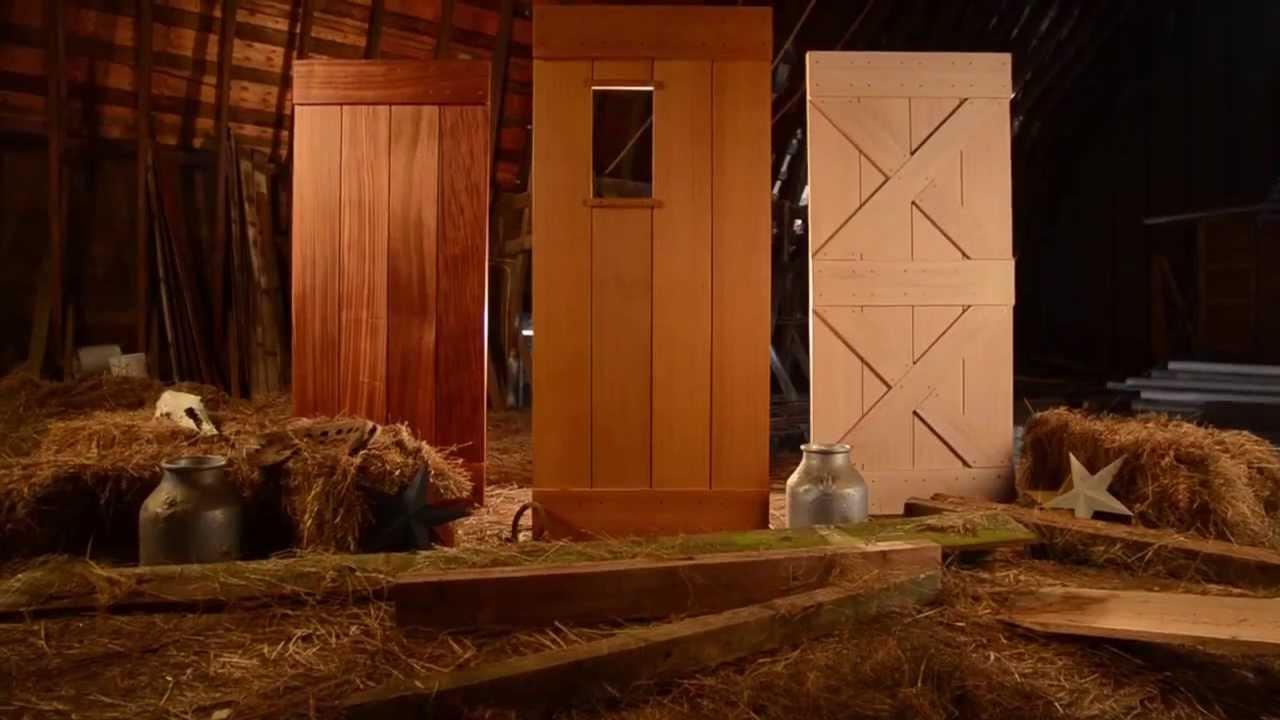 Sliding Barn Doors Youtube