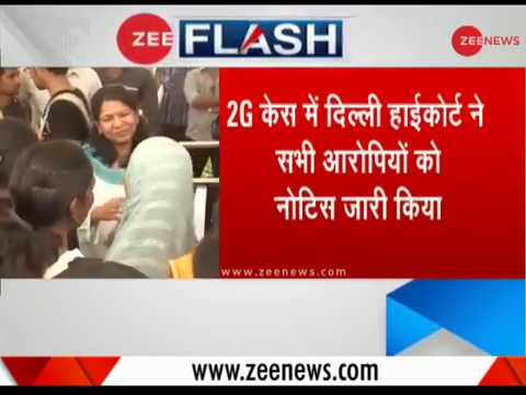 2G scam case: Delhi HC issues notice to DMK leaders Raja, Kanimozhi