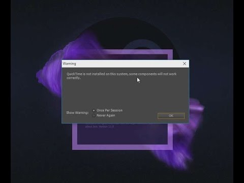 Adobe AE CS6/CC Quicktime error