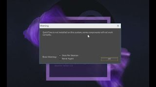 How to Fix After Effects Quicktime Error