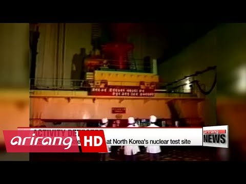 U.S. satellites detect activity at North Korea's nuclear test site