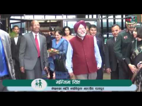 New Indian envoy arrives in Kathmandu