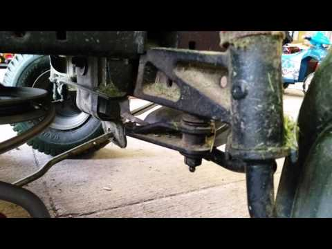 Craftsman Lawn Tractor Drag Link Replacement