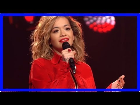 Rita ora surprises 'the voice of germany' judges with blind audition performance