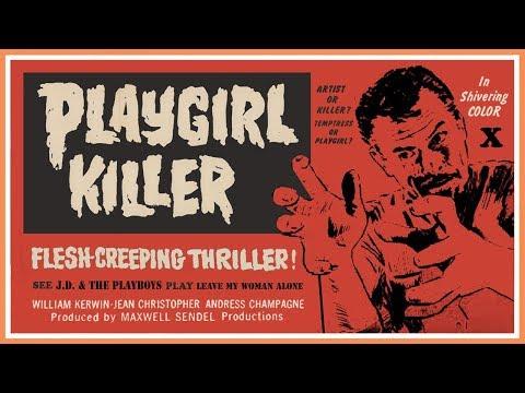 Playgirl Killer (1967) VHS Trailer - Color / 1:24 mins