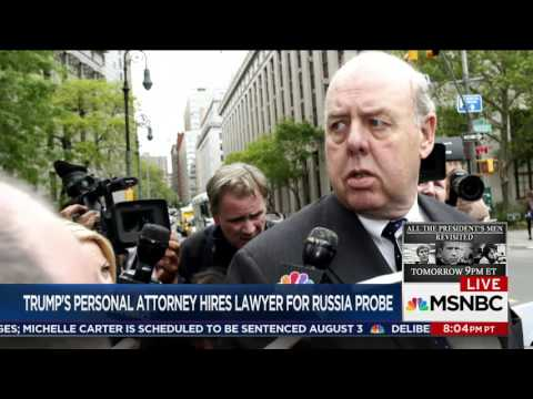 What does John Dowd bring to Trump's legal team?  11th Hour, June 16
