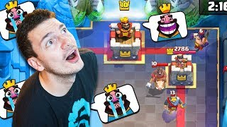 "FACING A ""LEVEL 10?!"" LADDER & QUESTS (Clash Royale)"