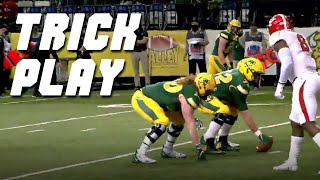 North Dakota State pulls off Swinging Gate trick play // 2021 FCS Highlights