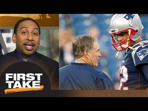 Stephen A. Smith reacts to Patriots' Brady, Belichick and Kraft conflict | First Take | ESPN