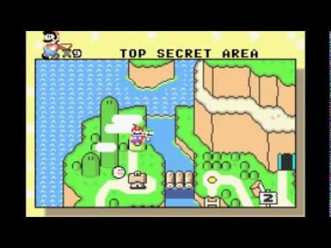 Super Mario World: Donut Ghost House (Secret Exit to Top Secret Area)