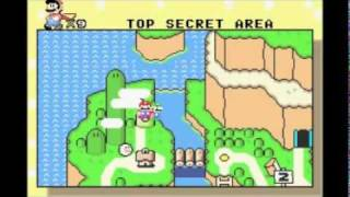 Super Mario World: Donut Ghost House (Secret Exit)