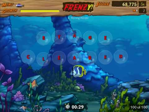 Let's Play Feeding Frenzy 2 - 01 - Levels 1-6 (No Commentary)
