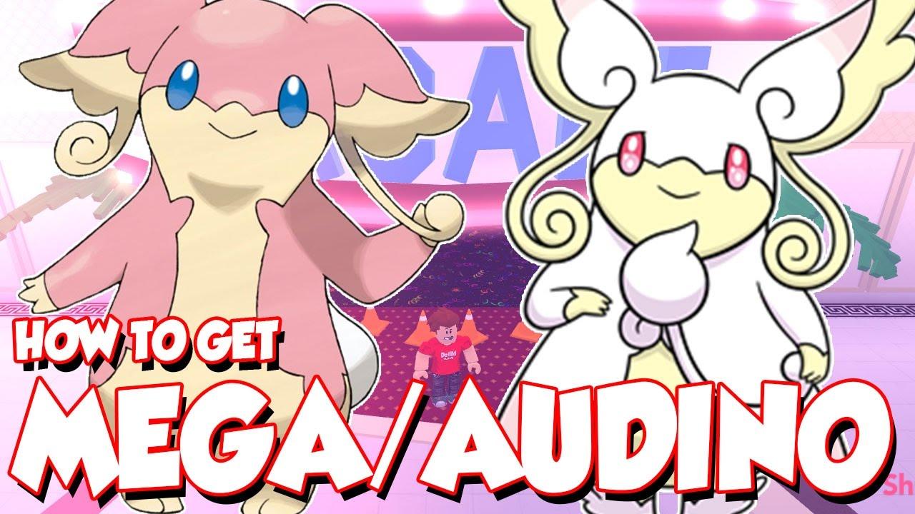 how to get audino and mega audino in pokemon brick bronze