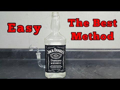 How to make a GLASS bong - Tutorial - Jack Daniels thumbnail