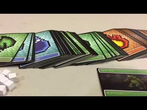 PIXEL GLORY Card Game Review