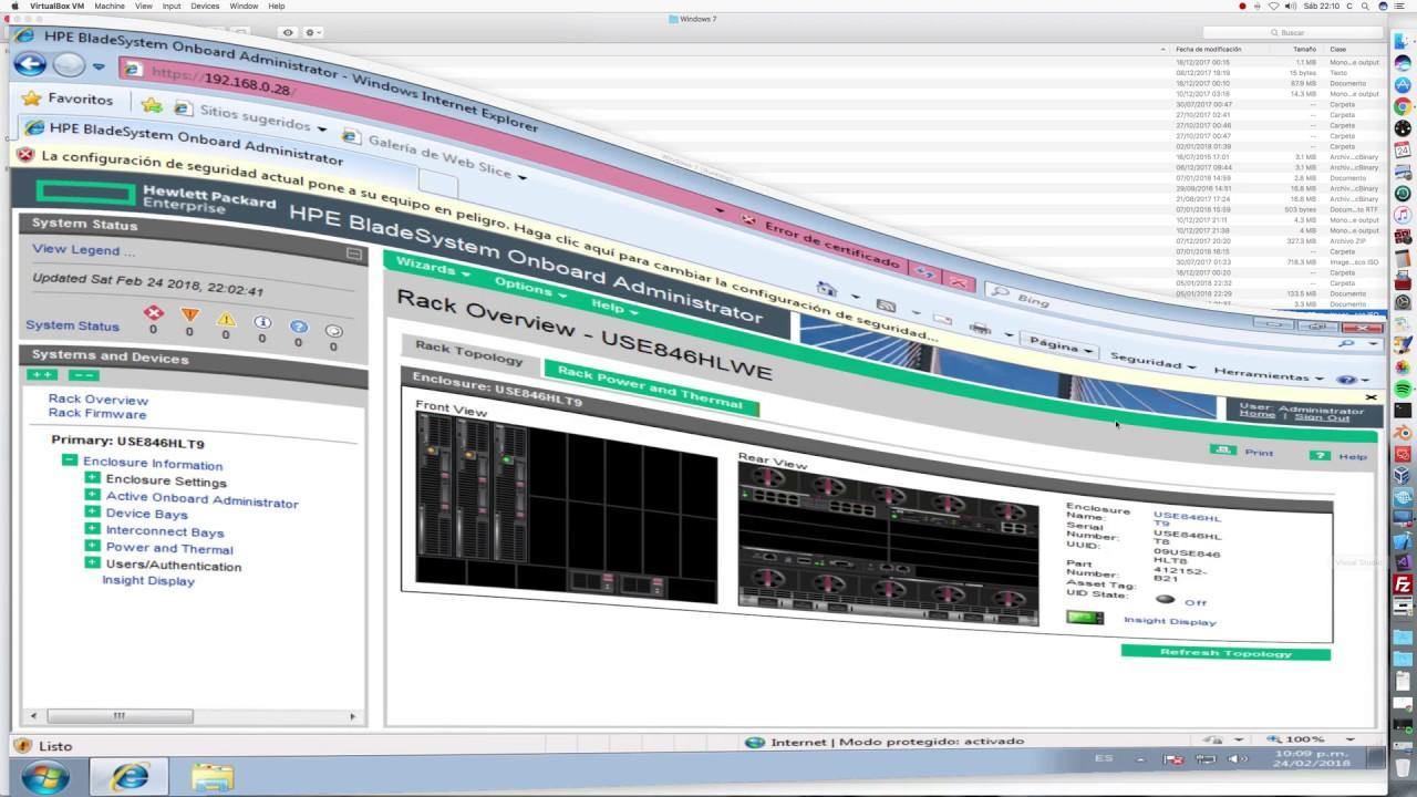 Install Windows Server 2012 R2 in HP C7000 BL685c G6 ILO 2 ISO Image