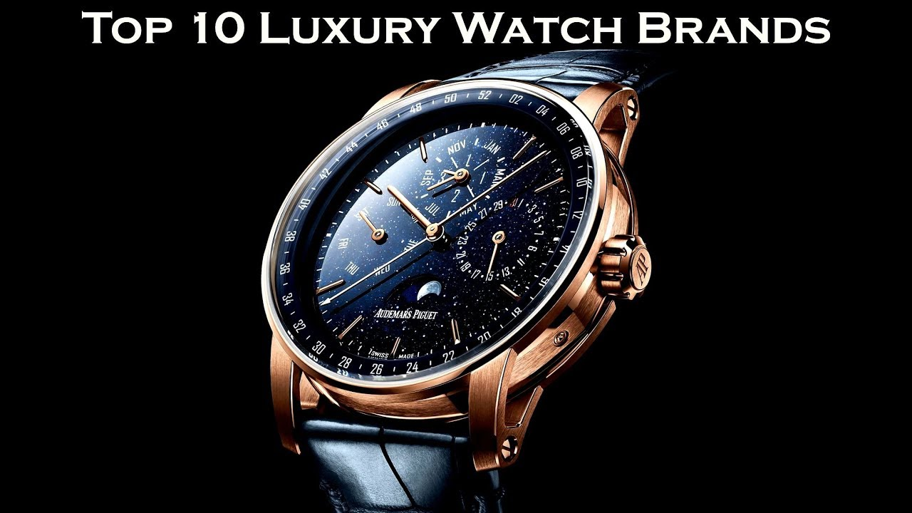b886a84af Top 10 Luxury Watch Brands 2019 - YouTube