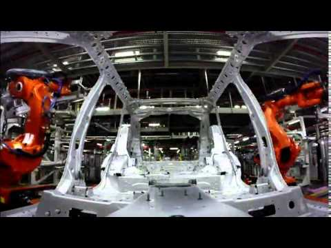 Jaguar Land Rover Manufacturing at Solihull - Timelapse | AutoMotoTV