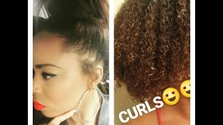 WATCH MY HAIR REVERT AFTER DOMINICAN BLOWOUT|STRAIGHT TO CURLY| DaMaGe??