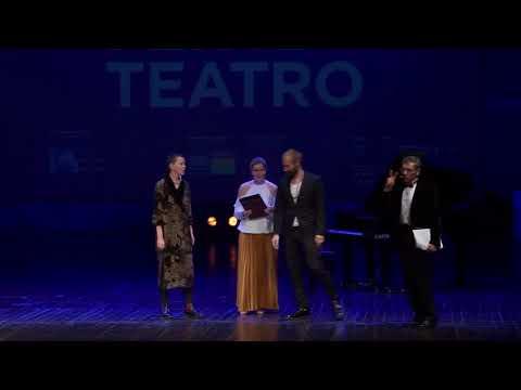 Award Ceremony PREMIO EUROPA PER IL TEATRO