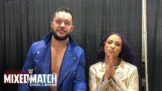 Vote #FinnSasha now in WWE Mixed Match Challenge