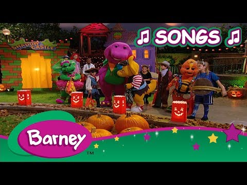 Barney 🎃 Best Halloween Songs 👻