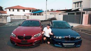 BMW E46 TURBO 20PSI vs BMW M235i STAGE 2 TUNE (370WHP)