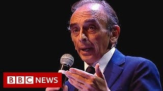 French far-right journalist Eric Zemmour cast as Macron election rival - BBC News