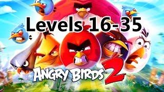 Angry Birds 2 - Levels 16-35 (Pig City - New Pork City )