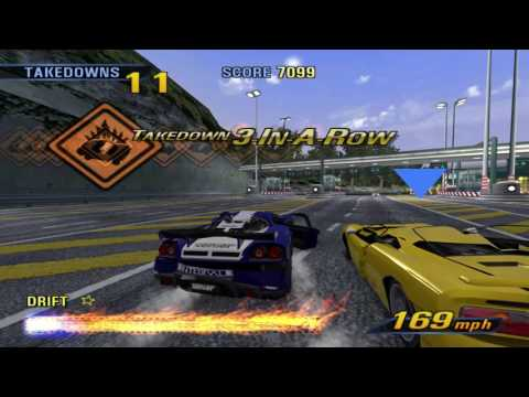 Burnout 3 on the PC - YouTube
