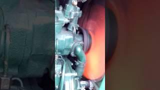 Робота двигуна Юмз після ремонту насоса.
